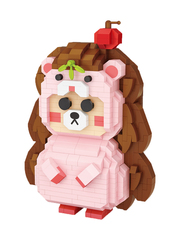 Конструктор LOZ Девочка - еж 860 деталей NO. 9246 Hedgehog girl iBlockFun Series