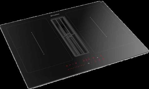 Индукционная варочная панель со встроенной вытяжкой Faber Galileo SMART BK F600+KIT LL H80