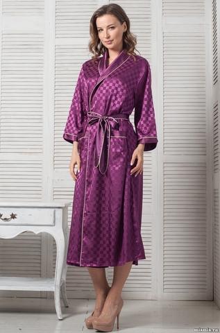 Длинный халат Mia-Mella 8129 ANTUANETTA