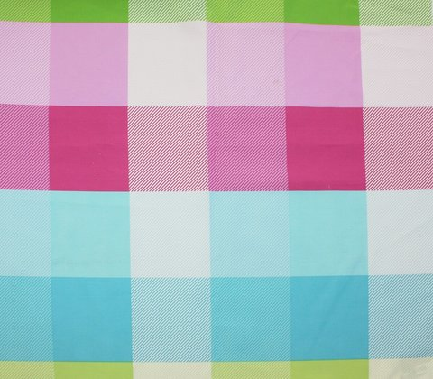 Детская портьерная ткань Кубики