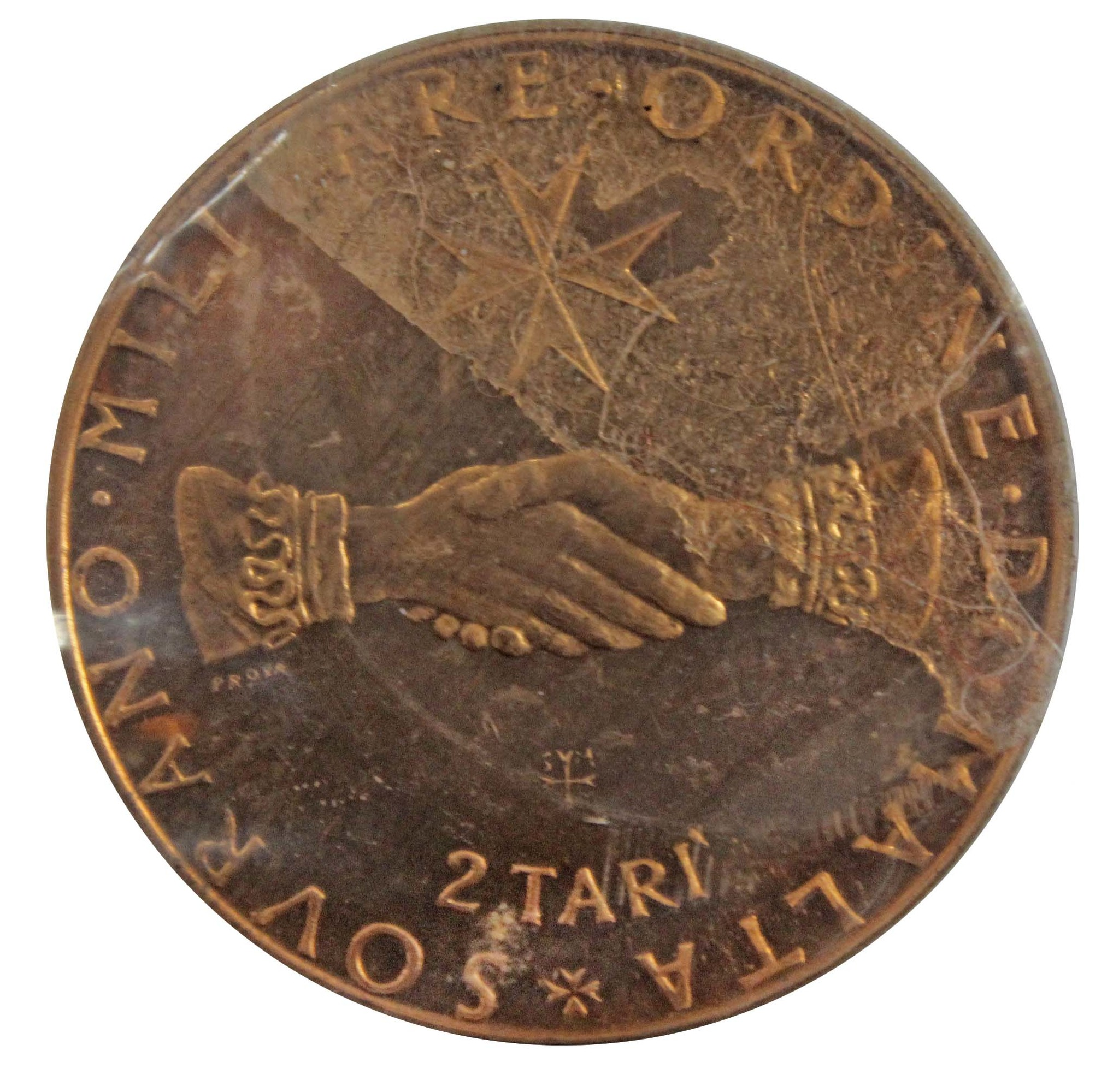 Мальтийский орден 2 тари. Мальта 1968 г. XF-
