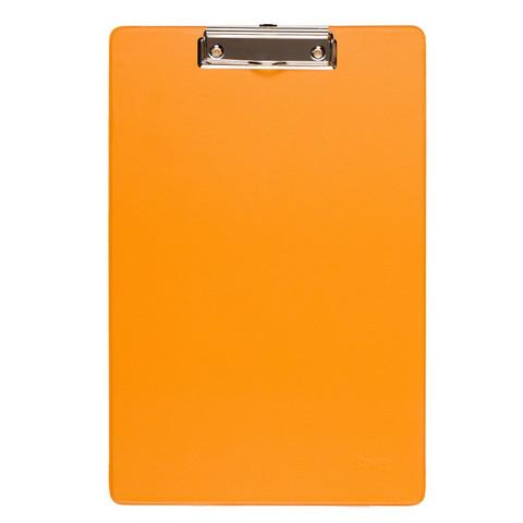 Папка-планшет Bantex A4 картонная оранжевая без крышки