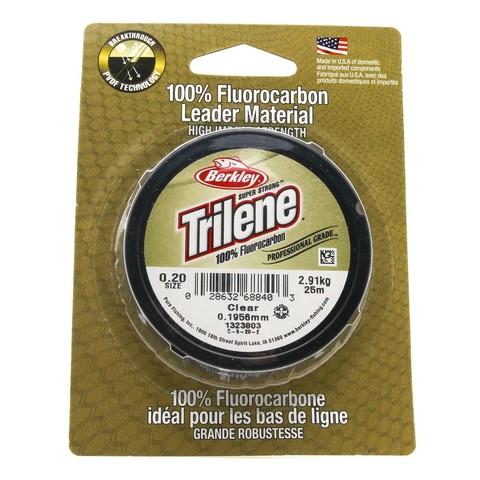 Леска флюорокарбоновая Berkley Trilene Fluorocarbon Leader 0,20 25M Clear