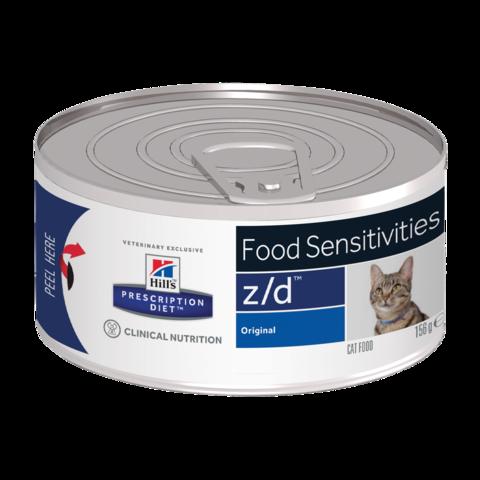 Hill's Prescription Diet Z/D Консервы для кошек при острых пищевых аллергиях