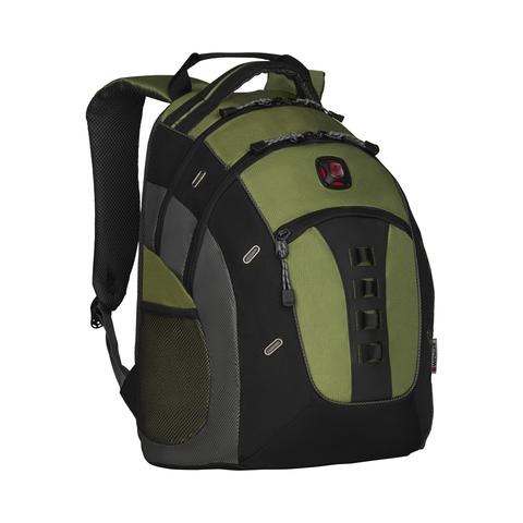 Городской рюкзак зелёный 27 л WENGER Granite 27335070