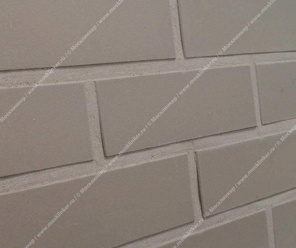 Roben - Faro, grau nuanciert, NF14, 240x14x71, гладкая (glatt) - Клинкерная плитка для фасада и внутренней отделки