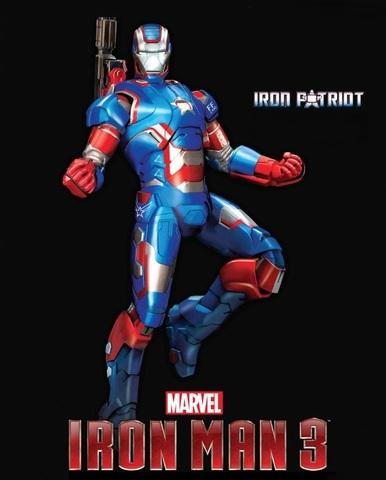 Iron Man 3 Scale  Model Kit  1/9 - Iron Patriot