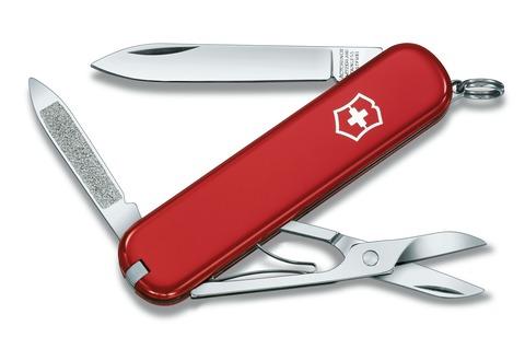Складной нож Victorinox Ambassador (0.6503) 74 мм., 7 функций, красный | Wenger-Victorinox.Ru