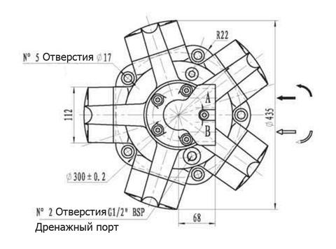 Гидромотор IPM5-800