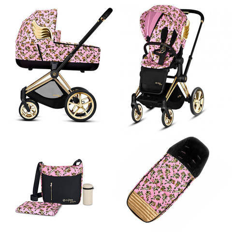 Набор Cybex Priam Lux III By Jeremy Scott Cherubs Pink