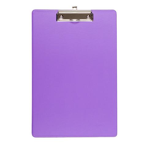 Папка-планшет Bantex A4 картонная сиреневая без крышки