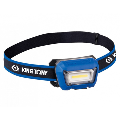 KING TONY (9TA52A) Фонарь светодиодный налобный, Li-Po, 280 люмен