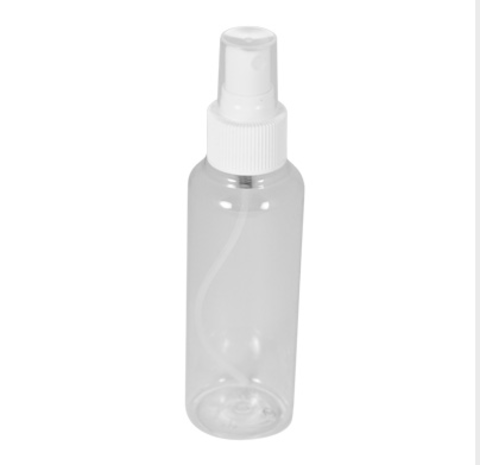 Бутылочка с распылителем прозрачная пластиковая, 100мл