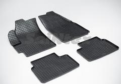 """Резиновые коврики """"Сетка"""" для Chevrolet Spark (2005-2010)"""