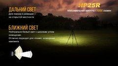 Налобный фонарь Fenix HP25R Cree XM-L2 U2