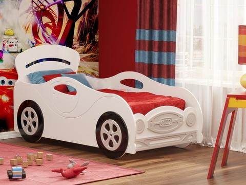Кровать-машина Омега-12 МДФ мальчик