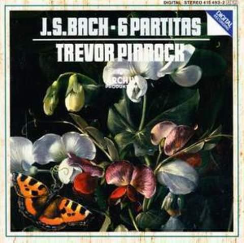 Bach, J S: Partitas Nos. 1-6 / Trevor Pinnock (harpsichord)
