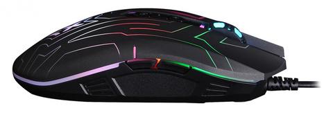 Мышь A4Tech X77 черный оптическая (2400dpi) USB (8but)