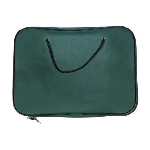 Папка-портфель А4 рант.шнур 1426559 зелен..  /1Ш42_6559