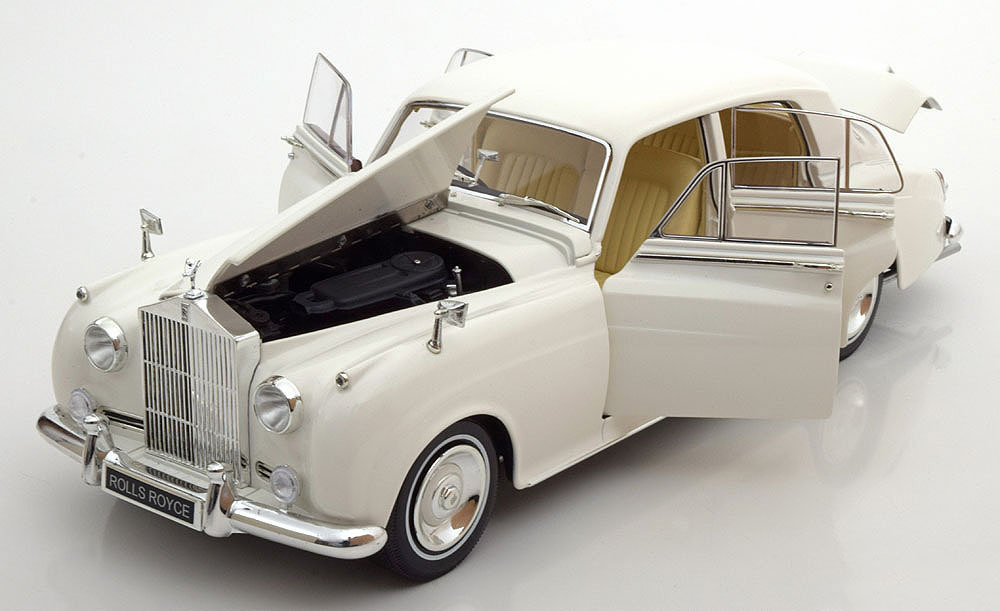 Коллекционная модель Rolls-Royce Silver Cloud Ii 1960 White