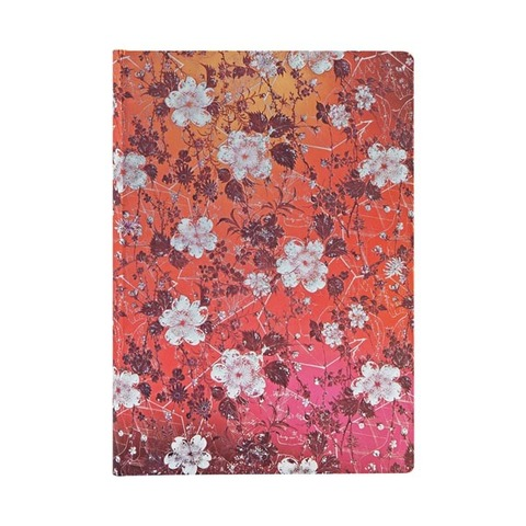 Katagami Florals / Sakura / Midi / Unlined