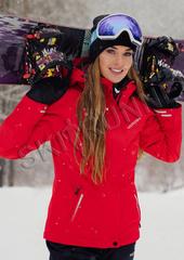 Горнолыжная куртка Nordski Extreme Red женская