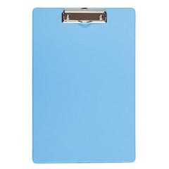 Папка-планшет Bantex A4 картонная голубая без крышки