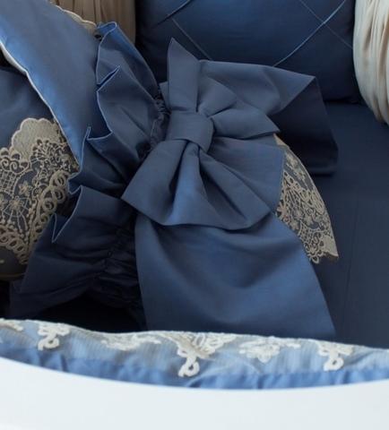 Бант на одеяло- конверт Сапфир