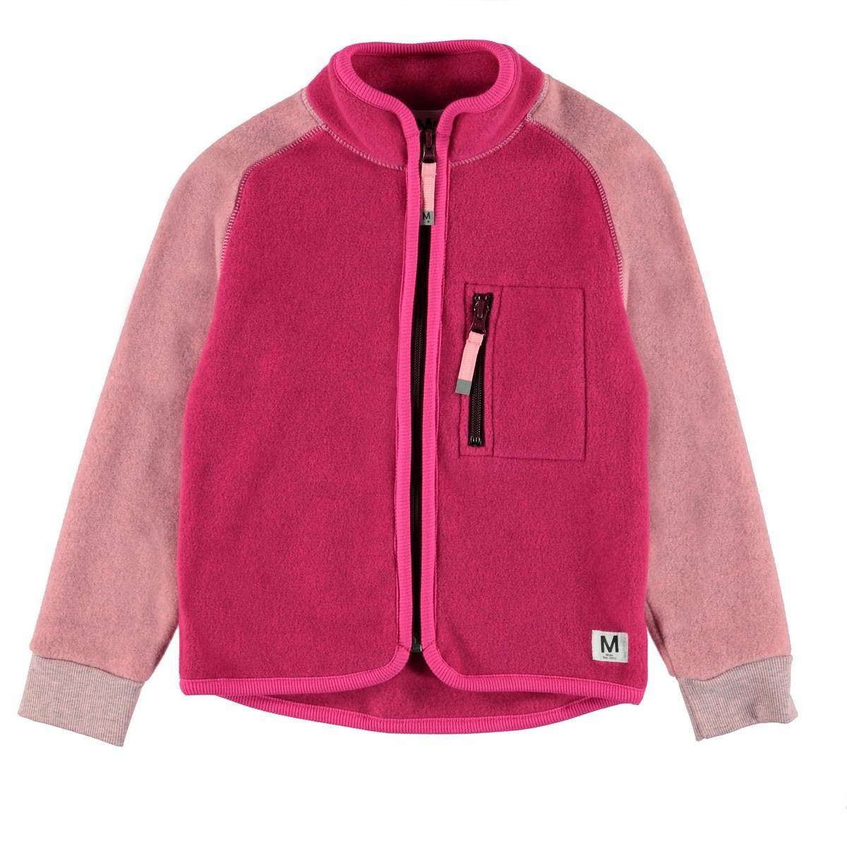 Куртка флисовая Molo Unna Pink Disco Block