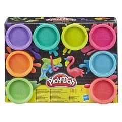 Play Doh Игровой набор пластилина, 8 цветов