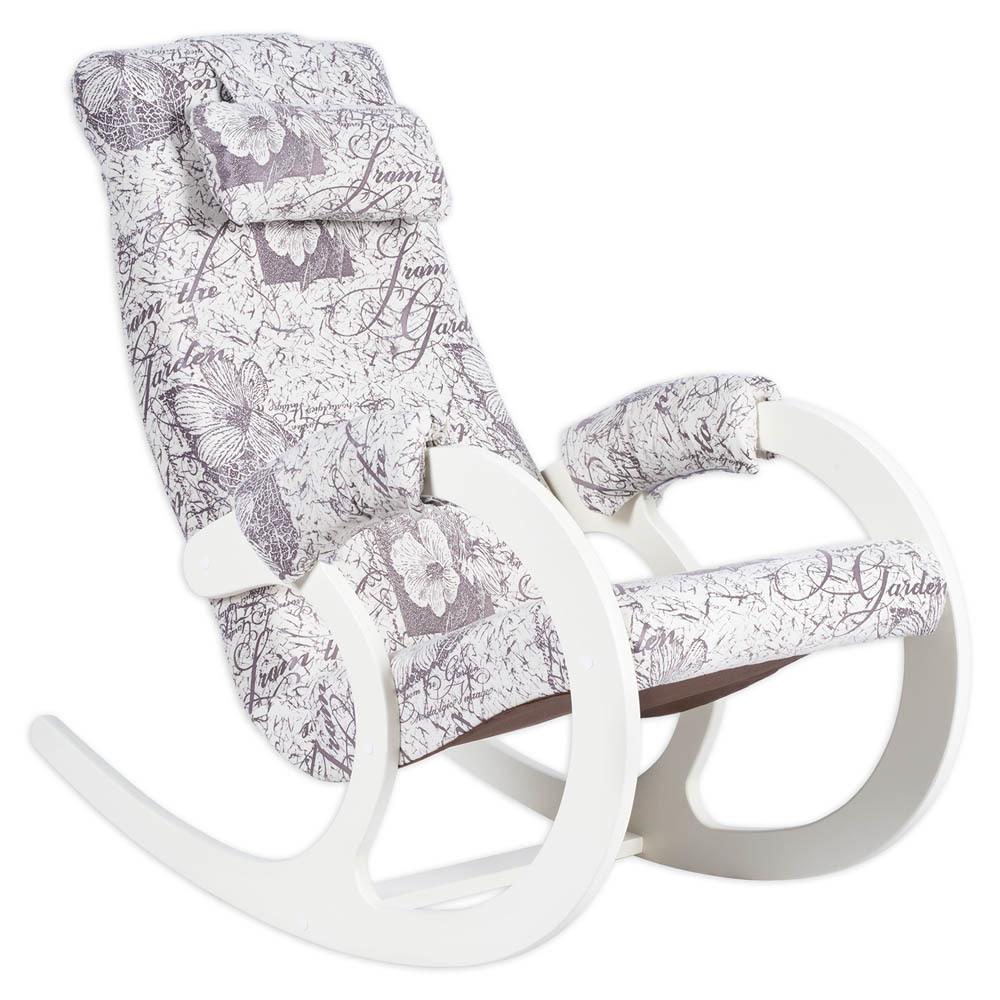 Классические Кресло-качалка Блюз Ткань (Garden) bluz-garden-milk-1.jpg