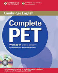 Complete PET Workbook without answers with Audi...