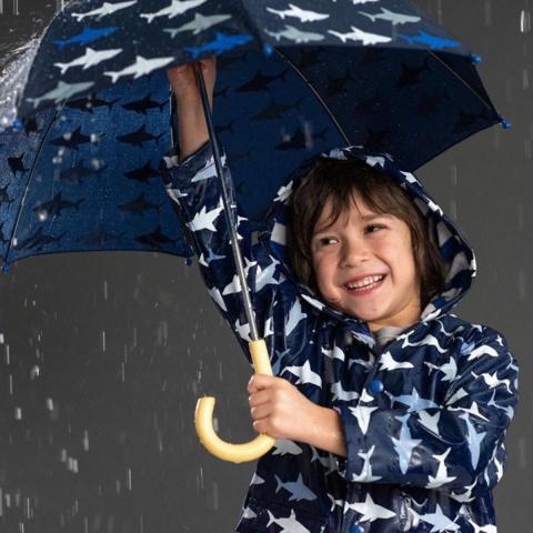 Зонт Hatley с акулами
