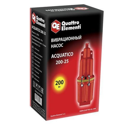 Вибрационный насос QUATTRO ELEMENTI Acquatico 200-25 (200 Вт, 960 л/ч, для чистой, 40м, ка (919-068)