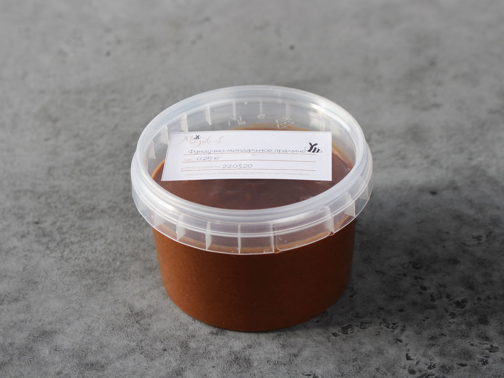 Фундучно-миндальное пралине, 250 гр