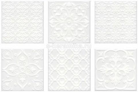 Плитка настенная KERAMA MARAZZI Суррей 200x200 белый 5226