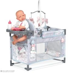 DeCuevas Манеж-игровой центр для куклы Кэрол с аксессуарами, 59 см (53129)