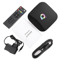 Смарт ТВ приставка Q Plus 4/32 Гб Андроид 9.0