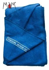 Слинг трикотажный MaM ECO One, до 18 кг, цвет 'Синий' (конопля 55%, органический хлопок 45%)