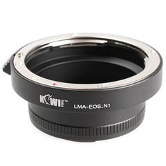 Переходное кольцо JJC Lens Mount Adapter Kiwifotos LMA-EOS_N1
