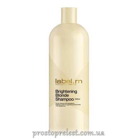 Label.M Brightening Blonde Shampoo - Осветляющий шампунь для блондинок