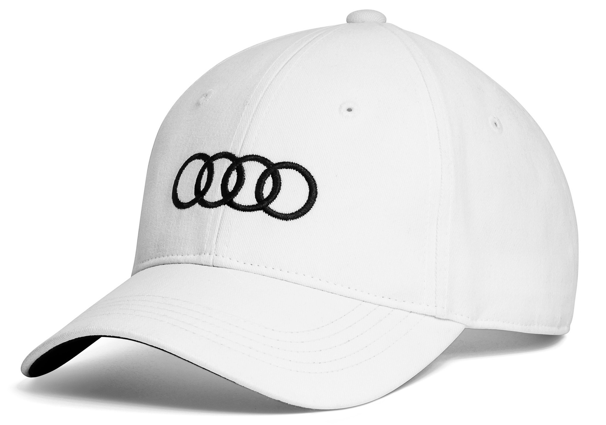Бейсболка Audi White