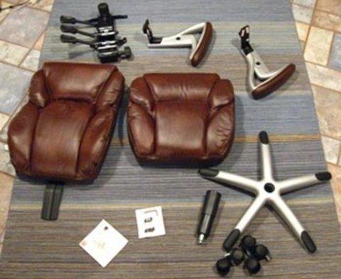 Услуга сборки офисного или игрового кресла