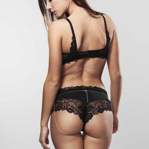 Bijoux Indiscrets Magnifique Bikini Chain Бикини-цепочка Серебряная