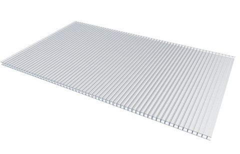 Сотовый поликарбонат Novattro 10 мм прозрачный 2.1х6 м