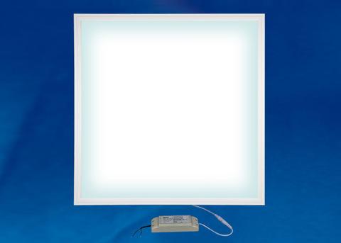 ULP-6060-36W/4000K EFFECTIVE WHITE Светильник светодиодный потолочный встраиваемый. Белый свет (4000K). Корпус белый. В комплекте с и/п. ТМ Uniel.