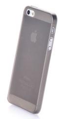 Чехол накладка Gurdini iPhone 5/5S/SE пластик ультратонкий 0.2 серый