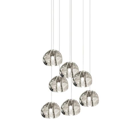 Подвесной светильник копия  Mizu by Terzani (7 подвесов)
