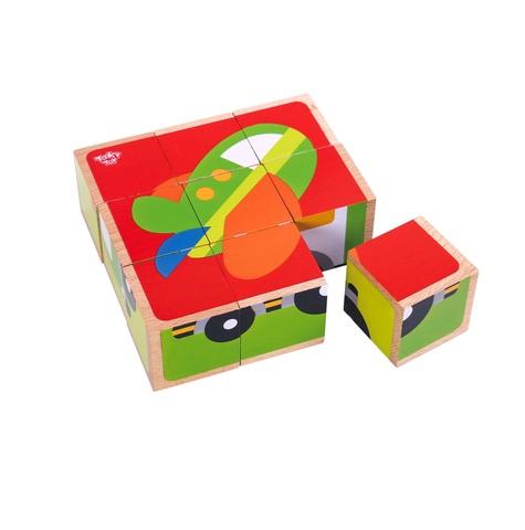 Пазл-кубики