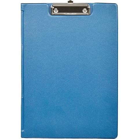 Папка-планшет Bantex A4 картонная синяя с крышкой